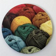 Wool Coaster round w01