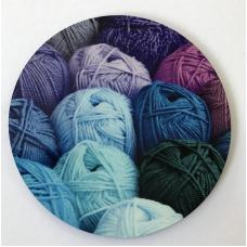 Wool Coaster round w02