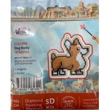 Diamond Art Kit Dog Rocky