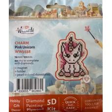 Diamond Art Kit Pink Unicorn